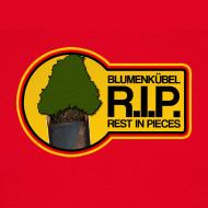 Blumenkübel in Neuenkirchen zerstört – das T-Shirt/Girlieshirt