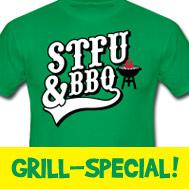 Grillschürzen & Grill-T-Shirts für die gelungene Grillparty