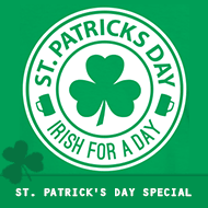 St. Patricks Day – Irish for a Day T-Shirt