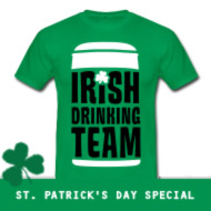Irish Drinking Team | St.Patrick's Day T-Shirt grün