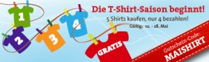Festival T-Shirt Mai Aktion